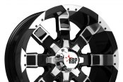 RBP® - 95R Black with Machined Face and Lip
