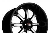 RBP® - 96R Black with Machined Face