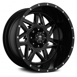 RBP® - 71R AVENGER Black with CNC Machined Grooves