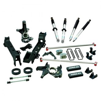 "RCD Suspension® - 4""-6"" Front and Rear Adjustable Lift Kit"