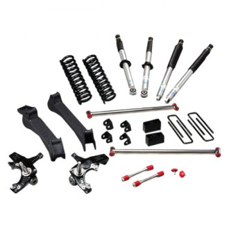 "RCD Suspension® - 3""-6"" Front and Rear Adjustable Lift Kit"