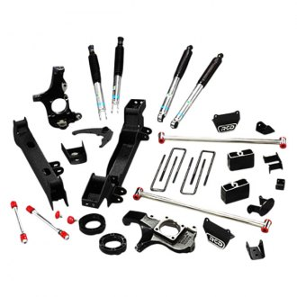 "RCD Suspension® - 5""-6"" x 5""-6"" Front and Rear Suspension Lift Kit"