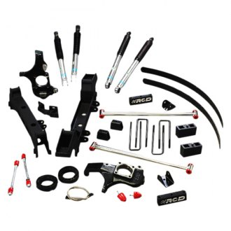 "RCD Suspension® - 4.5""-6"" x 4.5""-6"" Front and Rear Suspension Lift Kit"