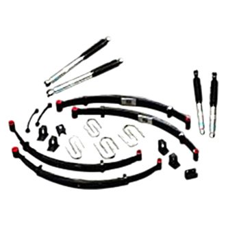 "RCD Suspension® - 4"" x 4"" Front and Rear Suspension Lift Kit"