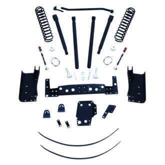 "RCD Suspension® - 6"" x 6"" Front and Rear Long-Travel Suspension Lift Kit"