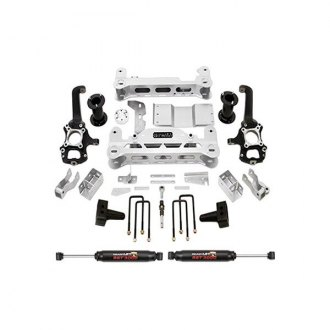 "ReadyLIFT® - 7"" x 4"" MLS Front and Rear Complete Lift Kit"