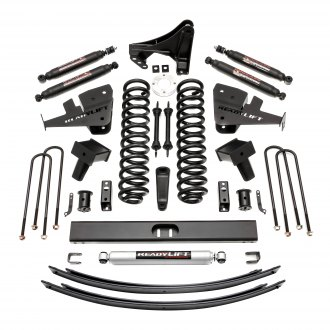 "ReadyLIFT® - 8"" x 8"" Front and Rear Suspension Lift Kit"