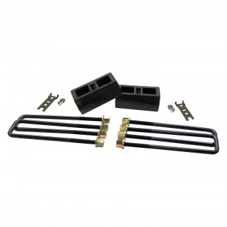 "ReadyLIFT® - 2"" Rear Lifted Blocks and U-Bolts"