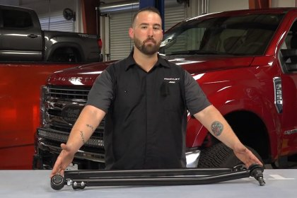 ReadyLIFT® Heavy-Duty Adjustable Front Track Bar (Full HD)