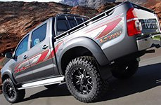 ReadyLIFT® - Installed Suspension System on Toyota Tundra