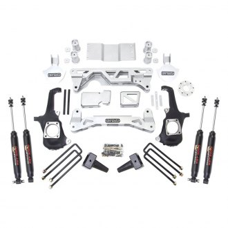 "ReadyLIFT® - 5""-6"" x 4"" MLS Front and Rear Complete Lift Kit"