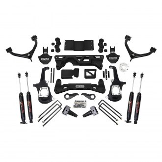 "ReadyLIFT® - 7""-8"" x 5"" Front and Rear Suspension Lift Kit"