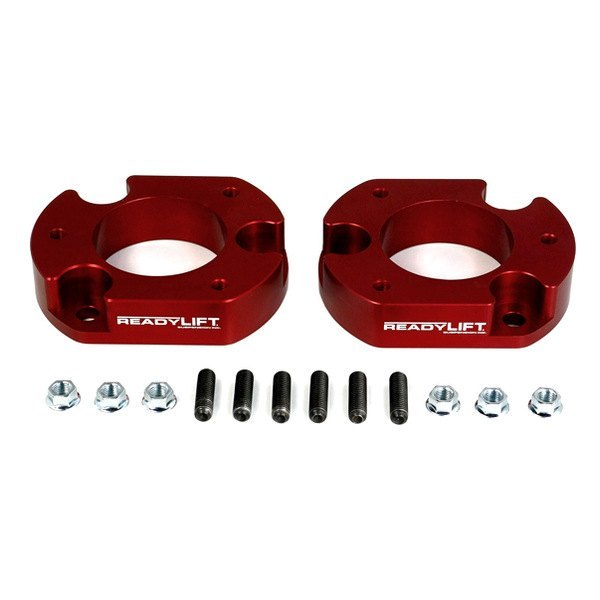 ReadyLIFT® - T6 Billet Front Leveling Kit - Red