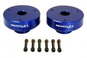 ReadyLIFT® - T6 Billet Front Leveling Kit - Blue