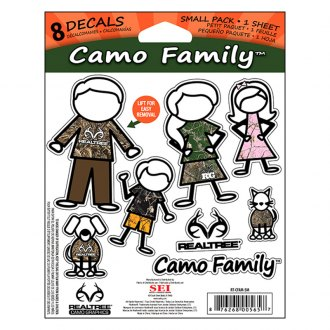 Realtree® - Camo Family™ Window Decal Set