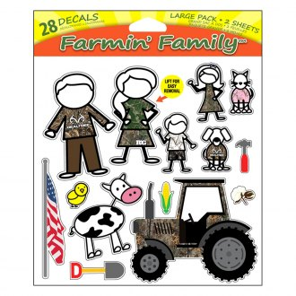 Realtree® - Farmin' Family™ Decal Window Decal Set