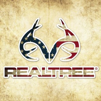 Realtree® - Realtree™ Antler Logo Contour-Cut Decal
