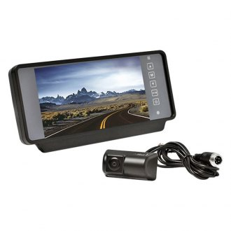 "Rear View Safety® - Rear View Mirror with Built-in 7"" Monitor and Camera"