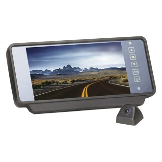 "Rear View Safety® - F-Series Rear View Mirror with Built-in 7"" Monitor and Camera"