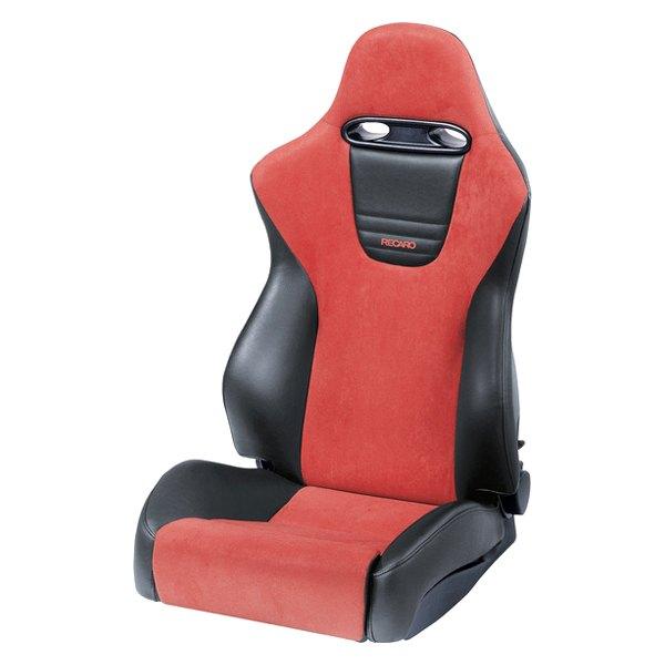 Good Recaro®   Sport Series Driver Side Seat, Black AM Vinyl