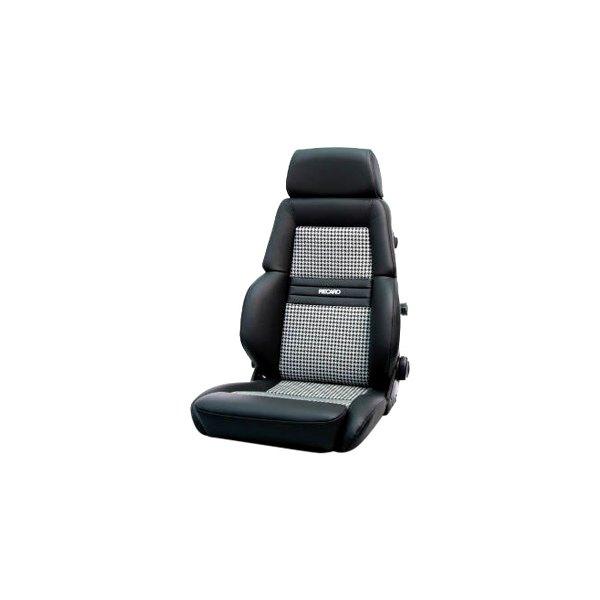 Recaro® - Expert Series Houndstooth Seats, Black Leather
