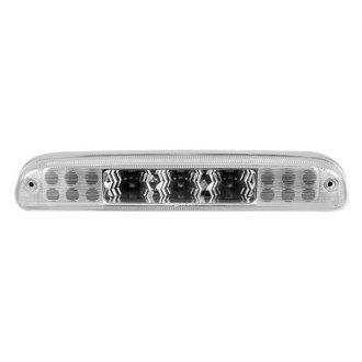Recon® - Red LED 3rd Brake Light with White LED Cargo Lights and Clear Lenses