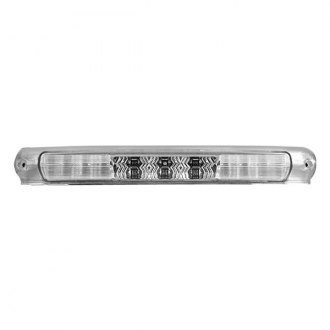 Recon® - Chrome LED 3rd Brake Light with White LED Cargo Lights