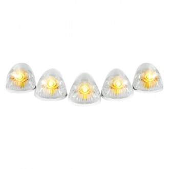 Recon® - Clear Cab Roof Lenses with Amber 194 Bulbs