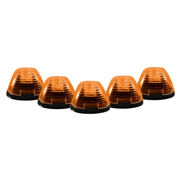 Recon® - Amber Cab Roof Lenses with Amber LEDs