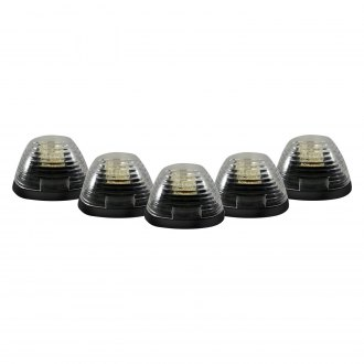 Recon® - Clear Cab Roof Lenses with Amber LEDs