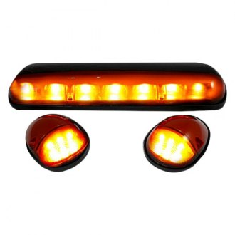 Recon® - Amber Cab Roof Lenses with Amber LED's