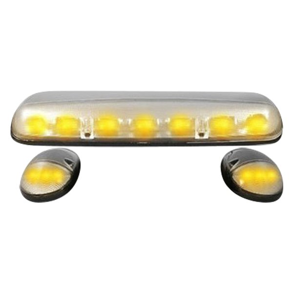 Recon® - Clear Cab Roof Lenses with Strobe and Amber LEDs