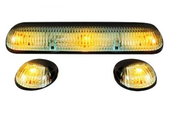 Recon® - Super White Cab Roof Lenses with Amber LED's