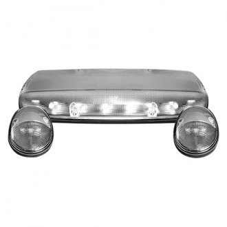 Recon® - Clear Cab Roof Lenses with White LED's
