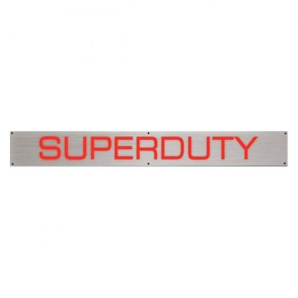 Recon® - Illuminated Front Door Sills with Superduty Logo