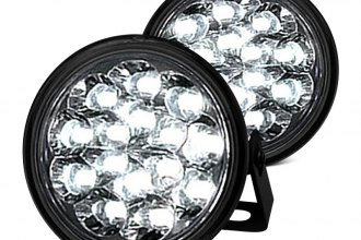 Recon® 264152CL - Round LED Daytime Running Lights
