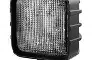 Recon® - Square Chrome Driving Light with 6 LEDs