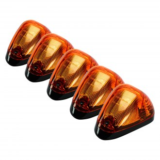 Recon® - OLED Bar Style Black/Amber LED Cab Roof Lights