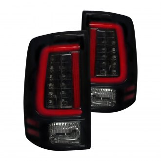 Recon® - Black/Smoke Fiber Optic LED Tail Lights