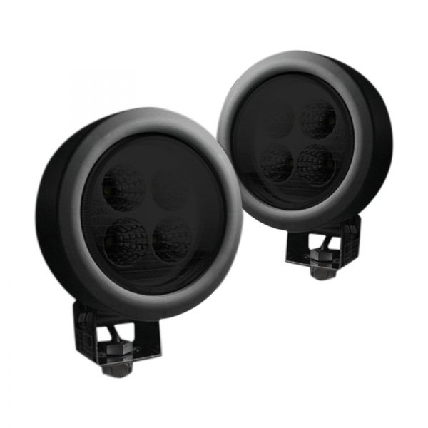 "Recon® - High Intensity 4"" 28W Round Driving Beam LED Lights"