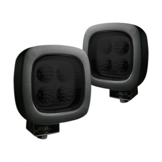 "Recon® - High Intensity 4"" Square Driving Beam LED Lights"