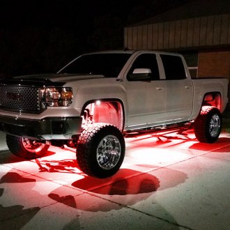 Recon® - Ultra High Power Red LED Rock Light Kit