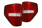 Recon® - LED Tail Lights with Red Lenses