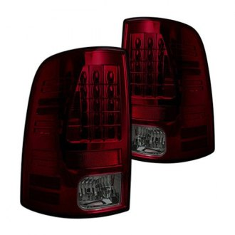 Recon® - Chrome Red/Smoke LED Tail Lights