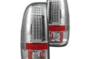 Recon® - Clear LED Tail Lights - SD