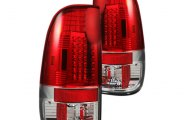 Recon® - Red LED Tail Lights - SD