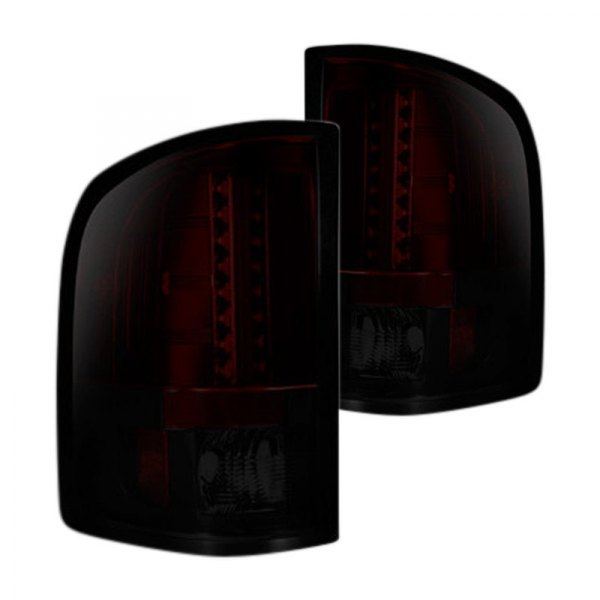 Recon® - Black Red/Smoke LED Tail Lights