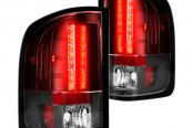 Recon® - Black/Red LED Tail Lights