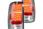 Recon® - Chrome LED Tail Lights