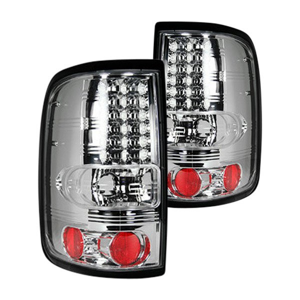 recon 264178cl ford f 150 2006 chrome led tail lights. Black Bedroom Furniture Sets. Home Design Ideas